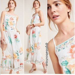 NWT Anthropologie Farm Rio Lantanas dress
